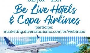 Diversa Turismo inicia série de webinars de julho nesta quarta-feira (1°)
