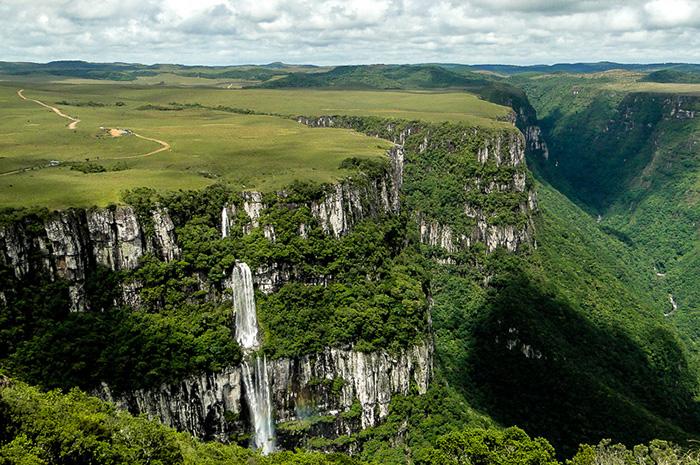 Parque Nacional de Aparados da Serra, no Rio Grande do Sul
