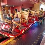 Distanciamento social obrigatório nas atrações com limite de capacidade