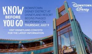Confira como será a reabertura do Downtown Disney em julho