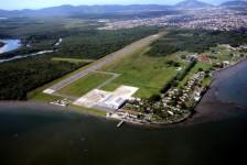 Aeroporto do Guarujá pode voltar a receber voos comerciais regulares
