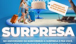 Clube do Turismo lança promoção para celebrar 37 anos da Bancorbrás