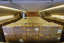 Operação do Ministério da Infraestrutura traz 11,8 milhões de máscaras