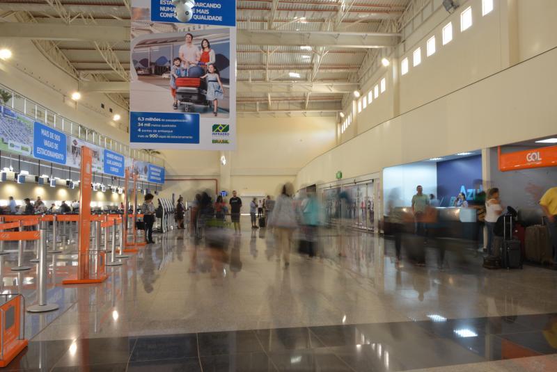 Aeroporto de Goiânia (Foto: Tiago Bênia)