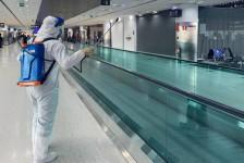 Viracopos inicia processo diário de desinfecção do terminal de passageiros