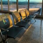 Bloqueio de assentos para promover distanciamento