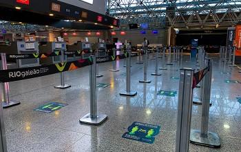 RIOgaleão adota novos protocolos para receber mais de 185 mil passageiros em julho