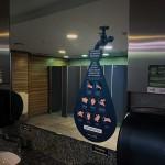 Instruções de higiene nos banheiros