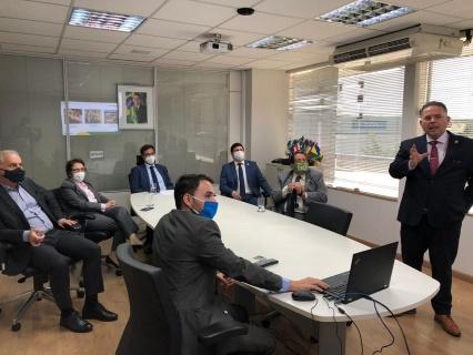 Reunião aconteceu na sede da Embratur (Foto: Helber Santos/Embratur)