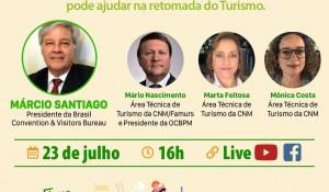 Brasil CVB e CNM realizam live sobre captação e promoção de eventos nesta quinta (23)