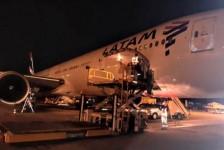 Latam finaliza transporte de 160 toneladas de insumo contra Covid-19 para o Rio