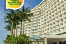 Bourbon adota selo 'Turismo Responsável' em todos seus hotéis já reabertos