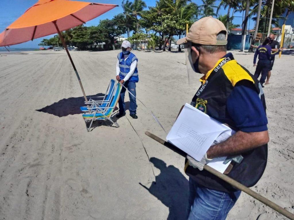 2- ordenamento na faixa de areia
