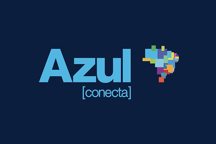Logo da Azul Conecta