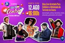 ABIH-CE celebra retomada do Turismo no Ceará com live nesta quarta (12)
