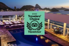 Rio Othon e Savoy Othon figuram no Travellers' Choice 2020 do TripAdvisor