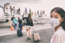 EUA recomendam uso obrigatório de máscaras em trens e aeronaves