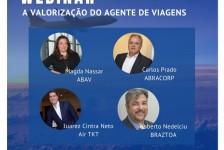 Abav, Abracorp, Braztoa e Air TKT debatem a valorização do agente nesta terça (11)