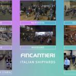 Fincantieri mostrou alguns de seus estaleiros