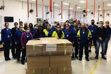 Latam conclui produção de 55 mil máscaras cirúrgicas para doação a hospitais