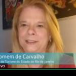 Adriana Homem de Carvalho, secretária de Turismo do Rio de Janeiro
