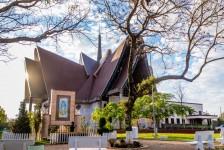Complexo Turístico de Itaipu anuncia Natal de Luzes com projeção mapeada