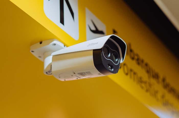 Câmera térmica do GRU Airport