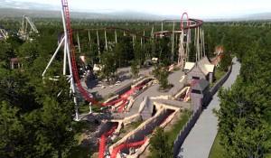 Parc Astérix lançará montanha-russa mais rápida e alta da França
