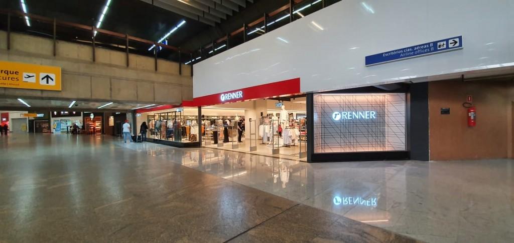Loja Renner no Aeroporto Internacional de Sao Paulo