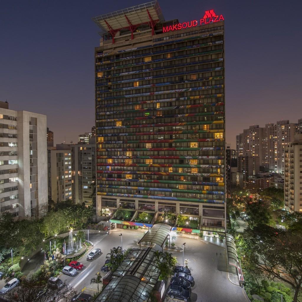 Maksoud Plaza - fachada