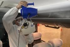 Turistur adquire nebulizadores eletrostáticos para desinfecção da frota
