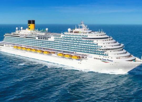Costa Cruzeiros planeja ter seis navios em operação até o fim do ano