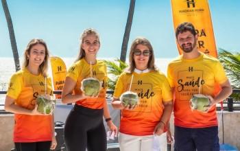 Hardman Praia Hotel realiza ações de reabertura na orla de João Pessoa; fotos