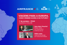 Air France-KLM realizará live no Abav Collab
