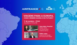 Air France-KLM realizará live no Abav Collab