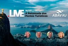 Abav-RJ promove live sobre retomada das atrações nesta quarta (16)