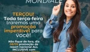 Mondiale lança promoção semanal que é renovada a cada terça-feira; entenda