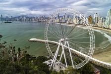 Roda-gigante de Balneário Camboriú já tem 70% das obras finalizadas