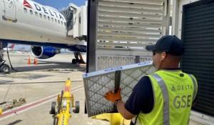 Ar a bordo é 'muitas vezes mais limpo' do que o de um restaurante, diz Delta