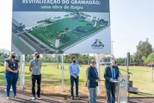 Gramadão de Itaipu será entregue revitalizado em agosto de 2021