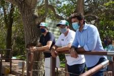 Em Fernando de Noronha, ministro ressalta a importância do ecoturismo