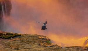 Rio e Foz ganham plataforma online de vendas de voos panorâmicos de helicóptero