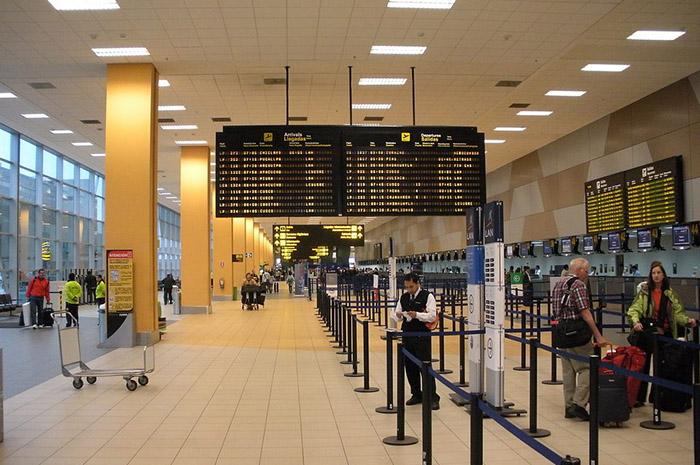 Aeroporto Jorge Chavez, em Lima