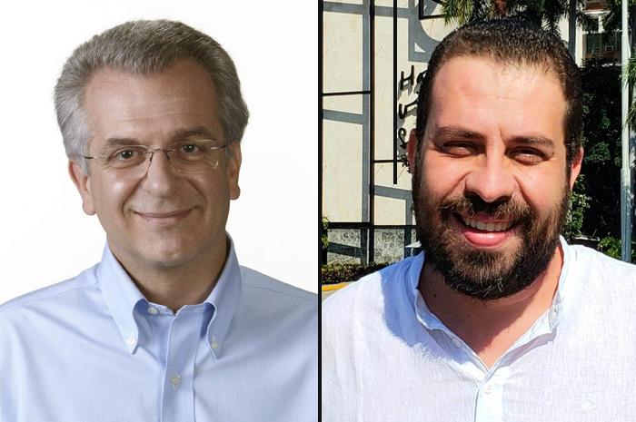 Andrea Matarazzo e Guilhemer Boulos
