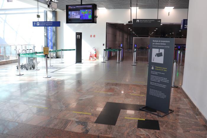 Câmera Térmica Aeroporto Porto Alegre_Divulgação
