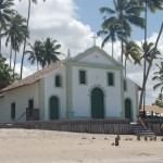 Capela de Benedito. Marco da praia de Carneiros
