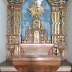 Catedral da Sé, altar lateral ainda preserva sua decoração em boas condições