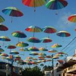 Decoração multicolorida dá vida ao Porto Cult