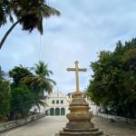Igreja e Convento de São Francisco ao fundo com seu cruzeiro de arenito (3)