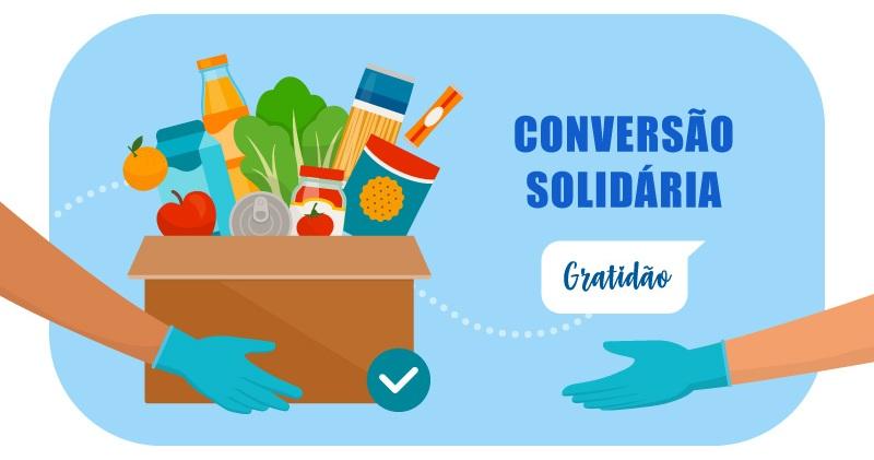 conversão solidária